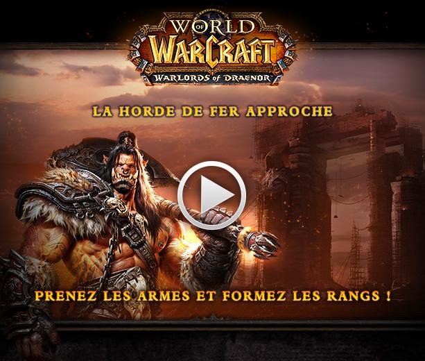 World of Warcraft: Warlords of Draenor – La cinématique et la date de sortie !