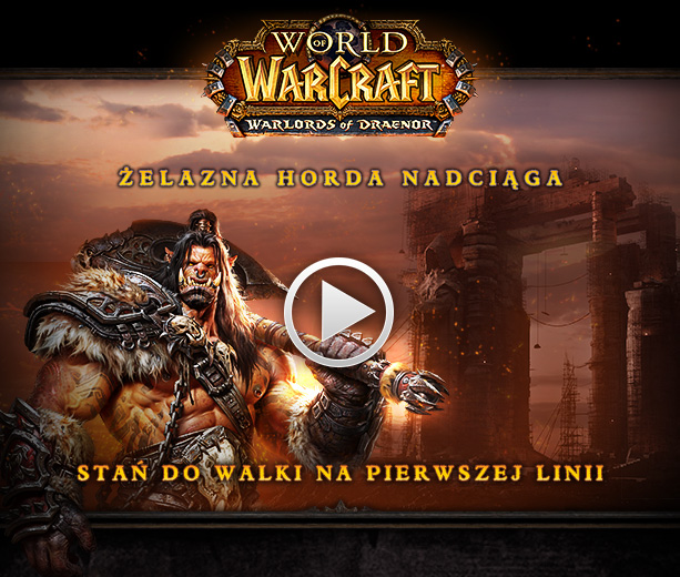 World of Warcraft: Warlords of Draenor - film wprowadzający i data premiery