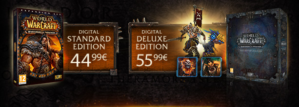 Pre-purchase Warlords of Draenor
