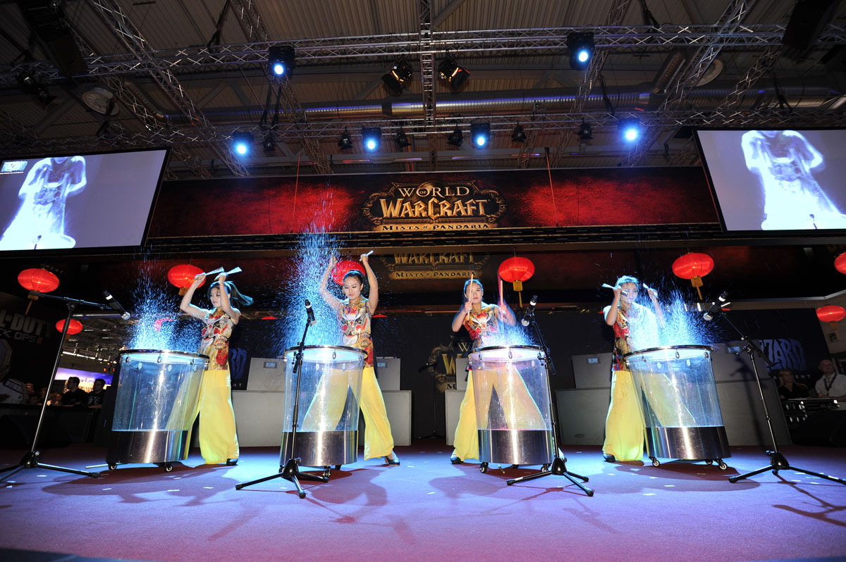Blizzard Entertainment Gamescom 2012