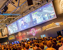 StarCraft II Pro Players Take the Stage at WCS and Blizzard Booth