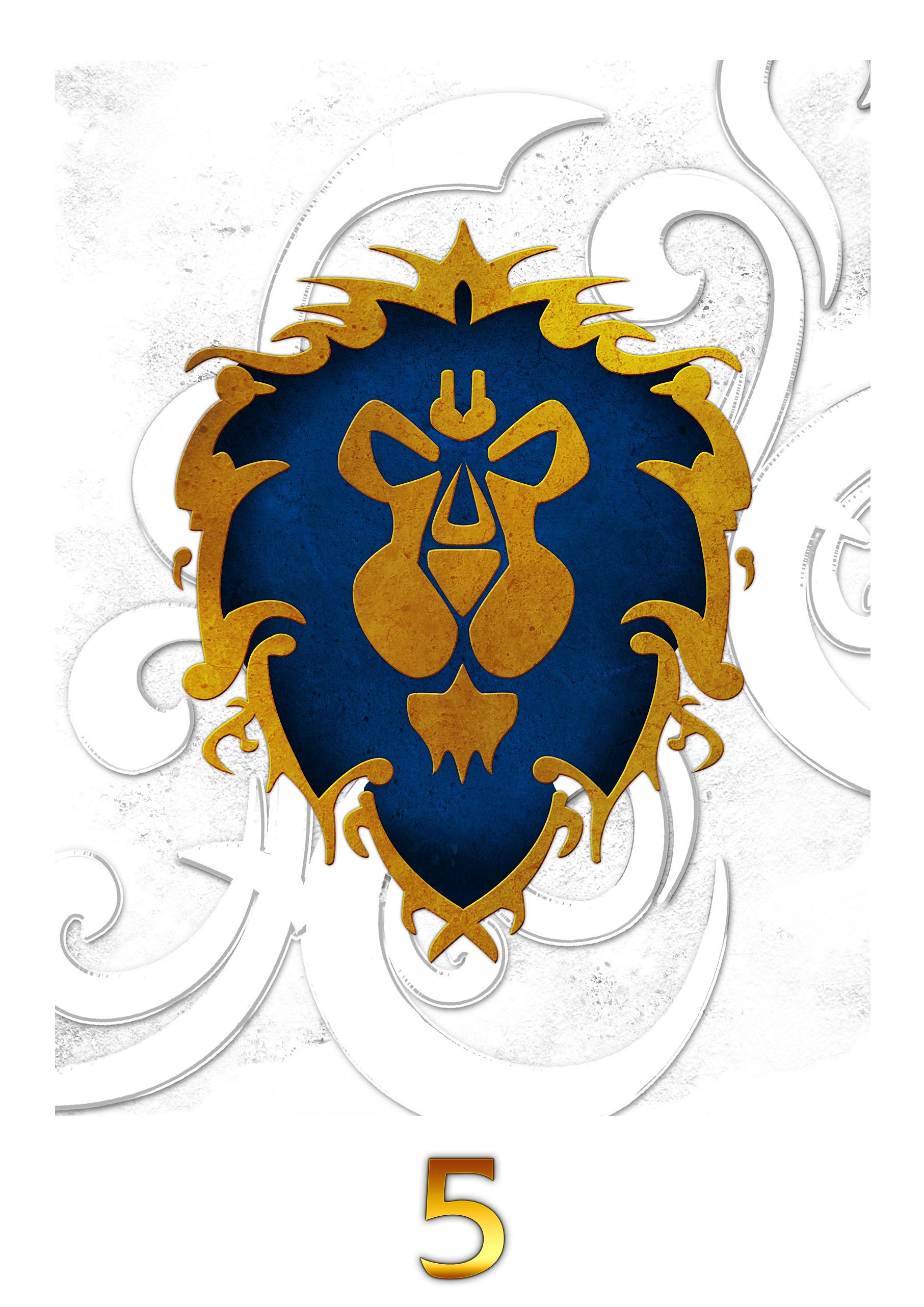 Alliance+world+of+warcraft+logo