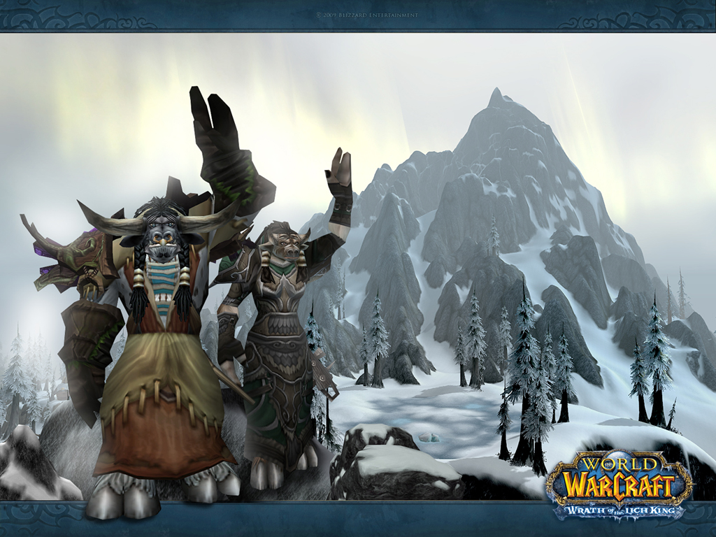Wallpaper World Of Warcraft 1024 X 768